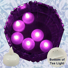 Freesh 18X Waterproof Led Floating Tealight Flameless Candle Wedding Party Pink