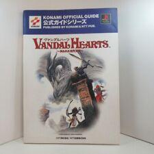 Vandal Hearts Konami Guide Book Official Japanese Language Version Paperback