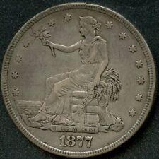 1877 (XF) $1 SILVER TRADE DOLLAR