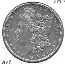 1879 AU+ MORGAN  DOLLAR