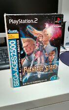 Playstation 2 - SEGA Ages 2500 Vol 1 Phantasy Star generation:1 - JAP NTSC Vers.