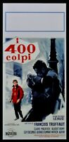 locandina I 400 COLPI LES QUATRE CENTS COUPS francoise truffaut poster film N44