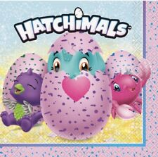 3 Hatchimals Colleggtibles Napkins For Decoupage Crafts Birthday Party Draggle