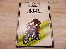 Clymer Service & Repair Manual For 1972-76 Suzuki 380-750cc Triples PL115 +