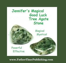 WIN MONEY! Love Success & Lottery Magical Good Luck Tree Agate Stone To Help Me!