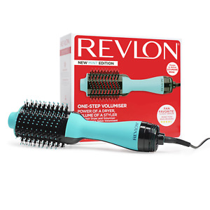 Revlon One-Step Hair Dryer And Volumizer Hot Air Brush Mint New In Box