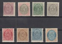 BB5619/ ICELAND – 1882 / 1900 MINT CLASSIC LOT - CV 280 $
