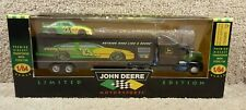 1996 Racing Champions 1:64 NASCAR Team Transporter Chad Little John Deere #23 B