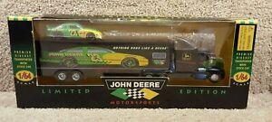 1996 Racing Champions 1:64 NASCAR Team Transporter Chad Little John Deere #23 B