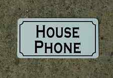 HOUSE PHONE Metal Sign 4 Hotel Motel Airport Cosplay Clubware TV Movie Props