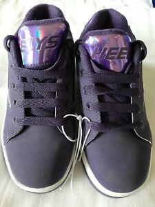 Girls Heelys purple skate Shoes Youth Size 1 super cute great condition