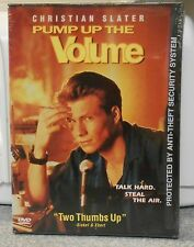 Pump Up the Volume (DVD, 1999) RARE 1990 MUSIC DRAMA CHRISTIAN SLATER BRAND NEW