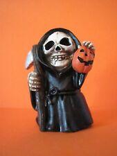 "New Miniature Halloween Grim Reaper Resin Figurine (2.5"" Tall)"