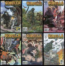 Godzilla Gangsters and Goliaths Comic full set 1-2-3-4-5 Lot w/ #1 SDCC Variant