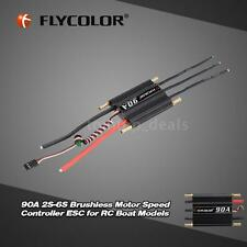 Top-sell Flycolor 90A 2S-6S Brushless ESC w/ 5.5V/5A Switch BEC for RC Boat J9U0