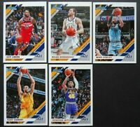 2019-20 Panini Donruss Utah Jazz Base Team Set of 5 Basketball Cards