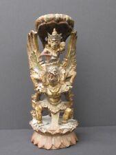 Vishu Garuda en en Bois sculpté BALI INDONÉSIE