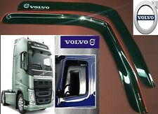Volvo FH 13 2pcs truck SMOKE TINT WINDOW VISOR SHADE/VENT WIND/RAIN DEFLECTOR