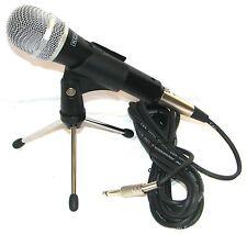 Alta Calidad Heavy Duty Dinámico Profesional Micrófono Xlr, Plomo Y Trípode De Mesa