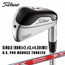 TITLEIST GOLF JAPAN 718 T-MB SINGLE IRON(#2,#3,#4 or 50) NS PRO MODUS3 TOUR 2017