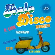 CD Italo Disco Megahits von Various Artists 2CDs