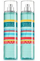 *2 PACK* Bath & Body Works ENDLESS WEEKEND Fine Fragrance Mist FREE SHIP New