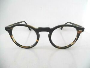 Oliver Peoples Gregory Peck Tortoise Brown Round Eye Glasses OV5186 47 23 150