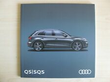 Audi SQ5 & Q5 UK Sales Brochure (2017 / 2018 Ed 1.0)