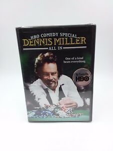 Dennis Miller: All In (2006), HBO Comedy Special, Region 1, New and Sealed