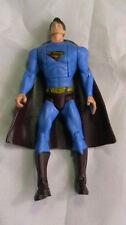"""2006 Mattel Superman Returns 5.5"""" Figura De Acción Dc Comics Capa Roja Tire hacia atrás"""