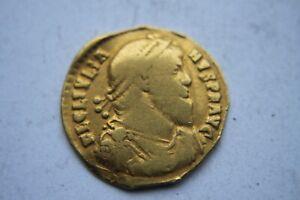 RARE ANCIENT ROMAN GOLD SOLIDUS JULIAN II 4th Century AD