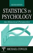 Statistics in Psychology: An Historical Perspective by Cowles, Michael