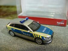 1/87 Herpa AUDI a6 Avant autostrada polizia Sassonia Anhalt 092586