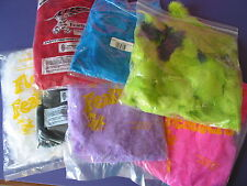 A2362 FEATHERS plumage and Tflats  mixed colors 16 full bags + 5 partial bags