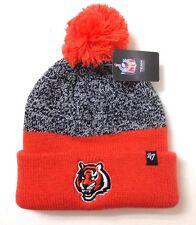 5a1720b9c229de new$22 CINCINNATI BENGALS POM BEANIE Orange Gray Winter Knit Ski Hat  Men/Women