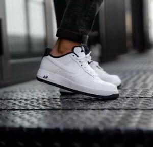 Nike Men's Air Force 1 07 White Black Size 6/9.5/10 Uk 40/44.5/45 Eu CD0884-100