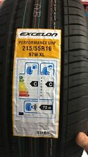 Excellon 215 55 ZR16  97W BRAND NEW (2 x Tyre) 215/55ZR16 C C RATING