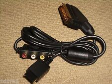SONY PLAYSTATION 1 2 3 PS1 PS2 PS3 SCART TV CABLE LEAD with AV PORTS ADAPTER