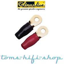 Sinuslive RKS-6 6qmm Ringkabelschuhe Kabelschuhe Ring Kabelschuh 6mm² 10 St