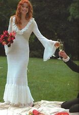 Irish Wedding Gown & Dress Gifts Accessories Knitting PATTERN Book BEAUTIFUL