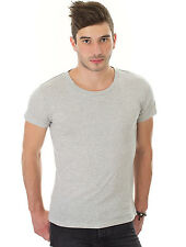 CHEAP MONDAY Top 2-Pack Tee Grey / White Hombre