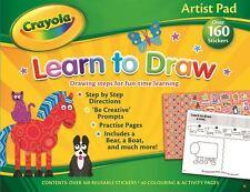Crayola Künstler Polster: Lernen To Draw Bildungs Kinder Spiele Aufkleber