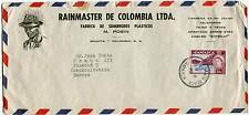 Jamaica White Sands Beach 1960 Air Cover Rainmaster Colombia Sombreros Factory