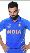 India Team Worldcup 2019 Cricket Shirt Sizes M L Xl