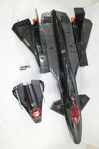 Vintage 1986 GI Joe Cobra Night Raven W/ Drone (RB4)