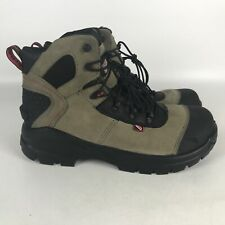 Red Wing CRV 6 Inch Leather EH Safety Toe Work Boots Men's Size 8.5 Beige 4426