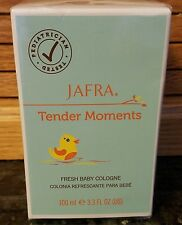 Jafra tender moments BABY cologne.3.3 FL OZ ORIGINAL SCENT. NEW IN SEALED BOX