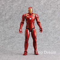 """The Avengers Civil War Captain America 3 Iron Man Action Figure 7"""" Toy Xmas Gift"""