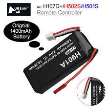 Hubsan Transmetteur Batterie Lipo 1400mAh 7.4V 1C Pour H107D+H502S H501S RC Dron