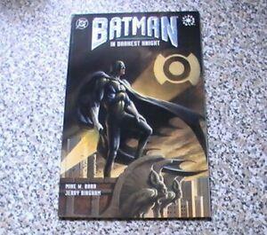 BATMAN : IN DARKEST KNIGHT    DC COMICS PRESTIGE FORMAT ELSEWORLDS